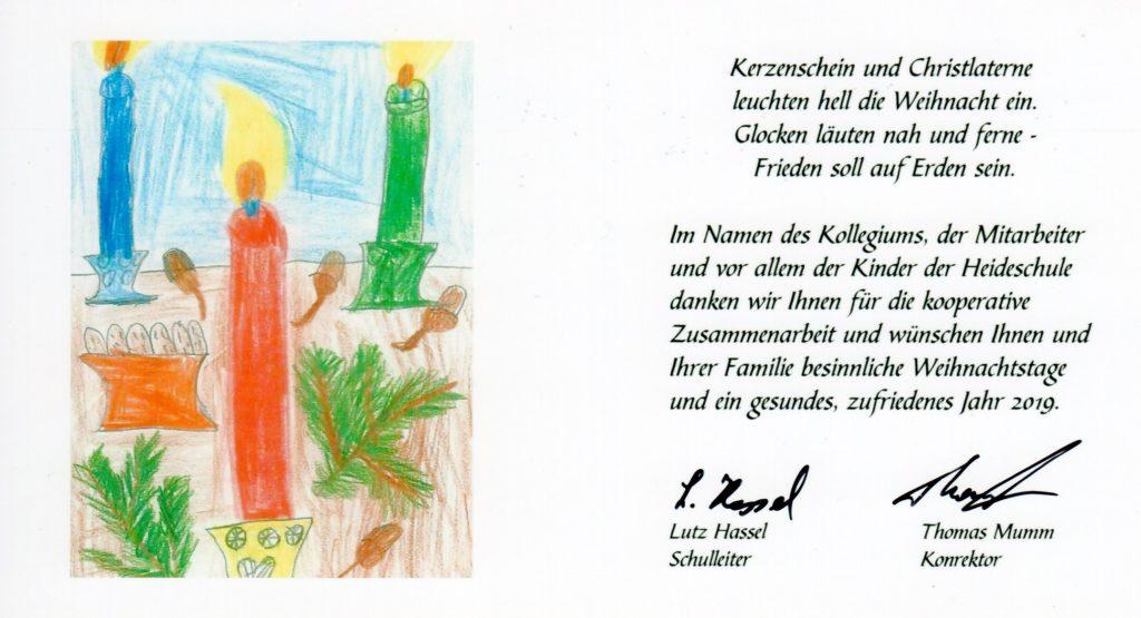 Weihnachten 2019 Köln.Weihnachten 2018 Heideschule Köln